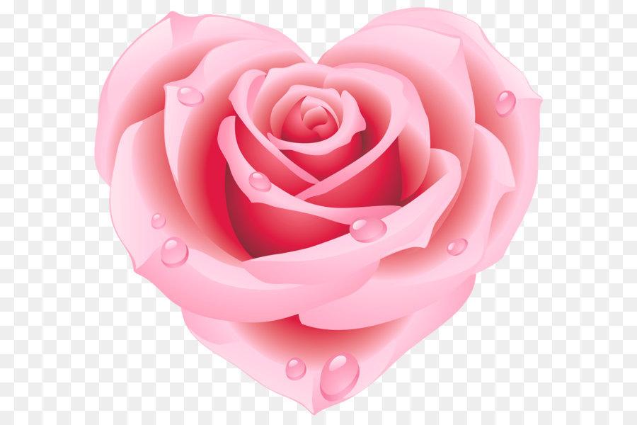Открытка в форме розы