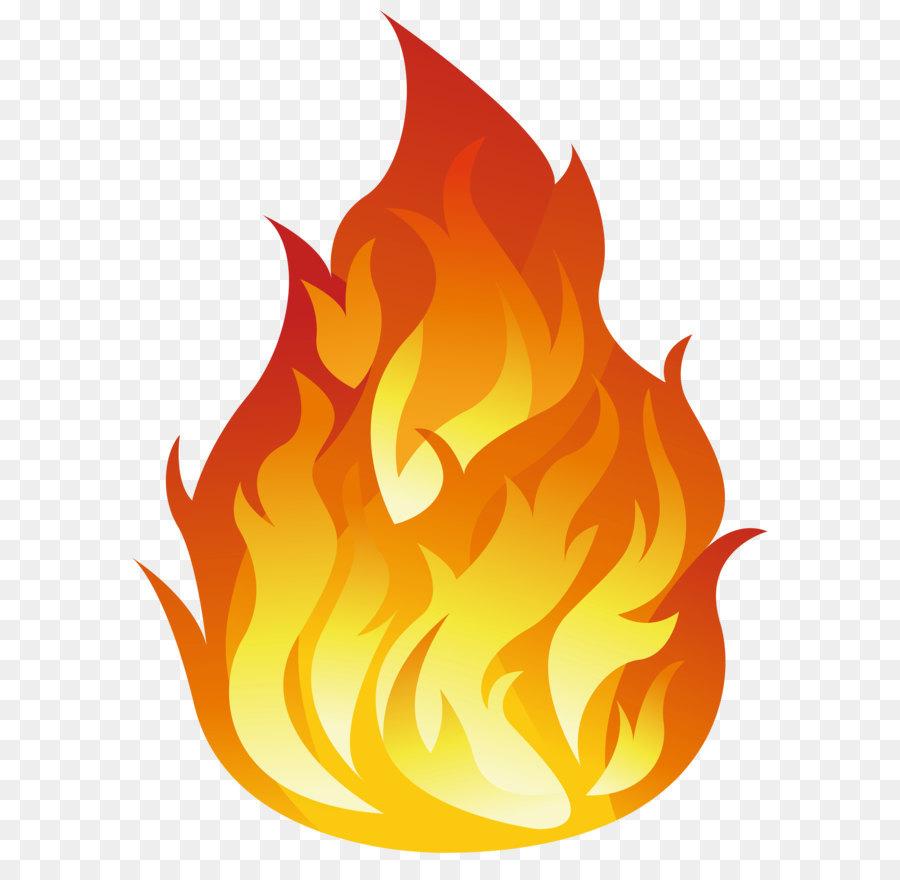 Картинка огня нарисованная