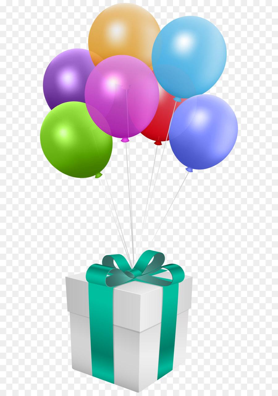 Месяц рождения, картинка с подарками и шариками