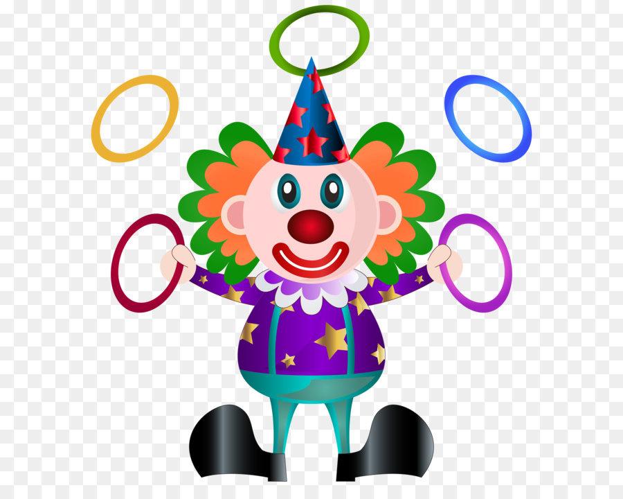 Картинка с клоуном