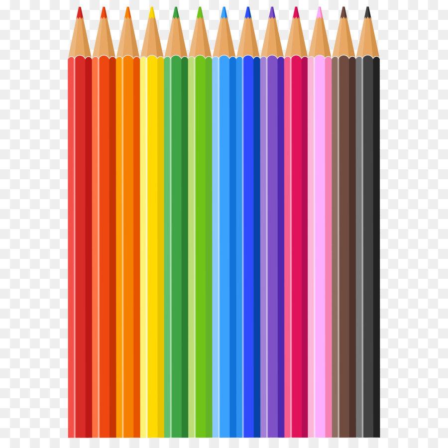 Картинки разноцветные карандаши