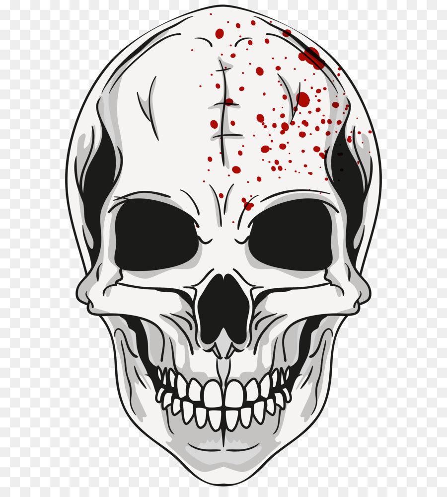череп,