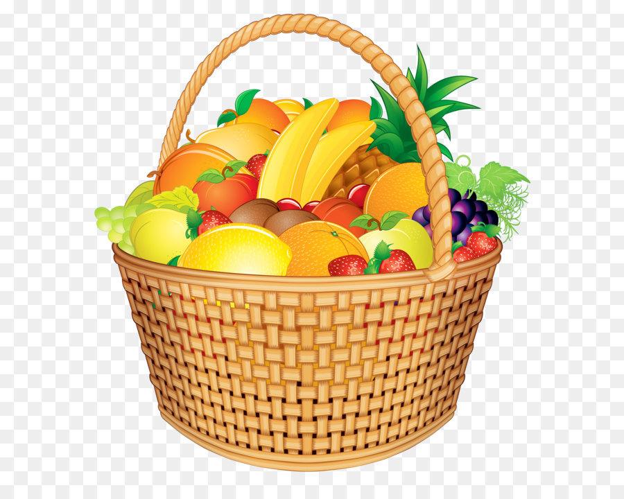 День воспитателя, картинка корзина с фруктами для детей