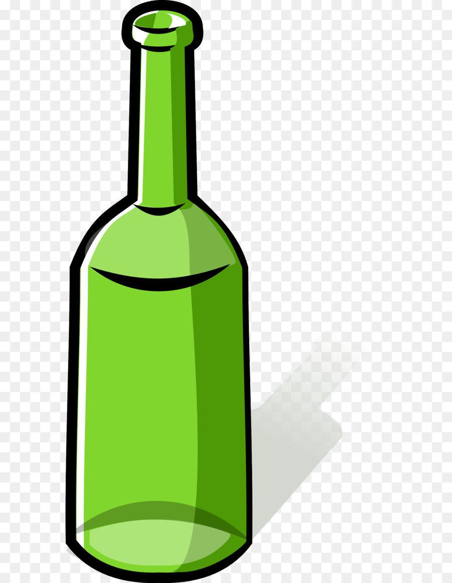 Картинка бутылка мультяшная