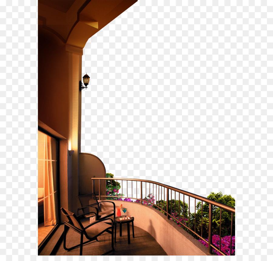 балкон,