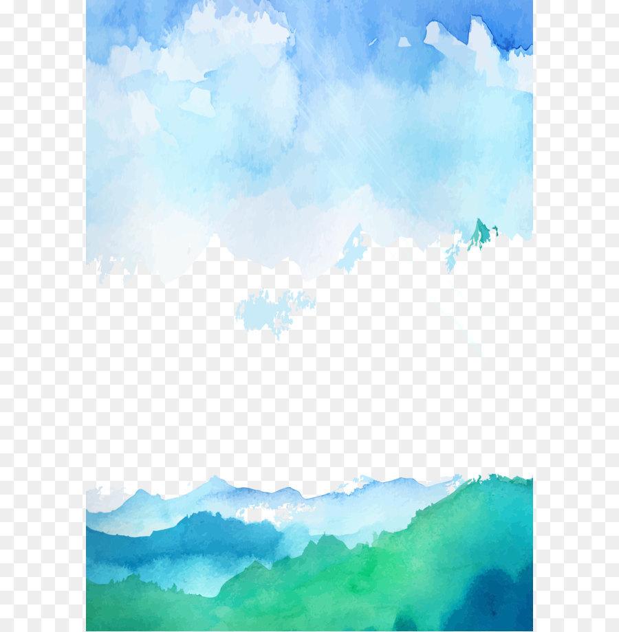 небо,