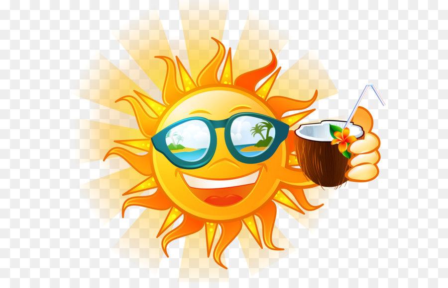Открытки поздравления, картинка солнце прикольные