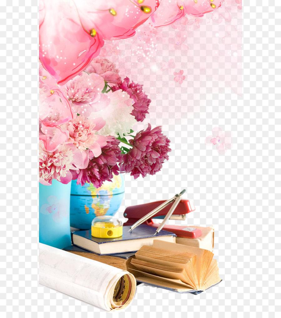 Школьная картинка с цветами, день туризма