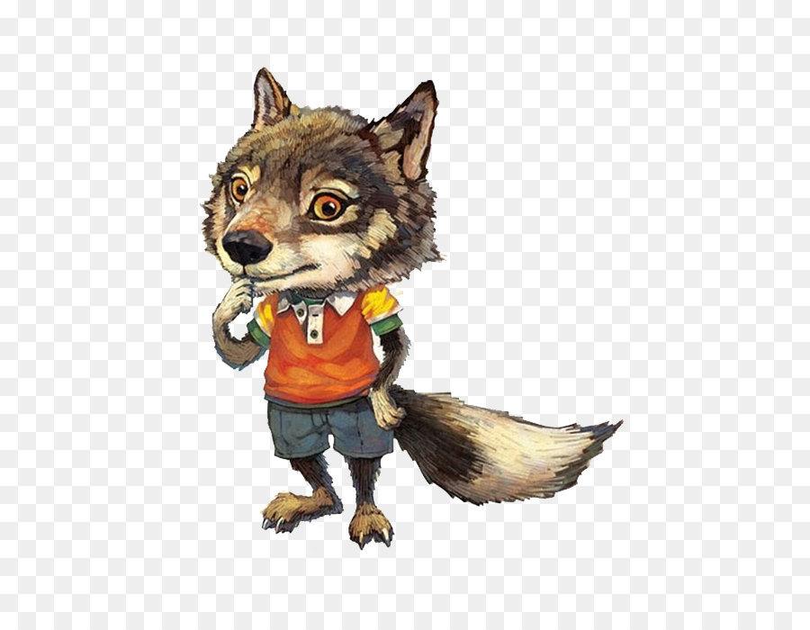 картинки волчонка мультяшного нас