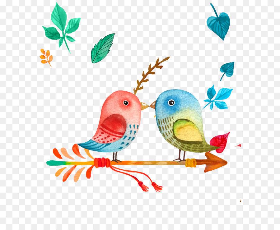 открытка две птички желает всем хозяйкам