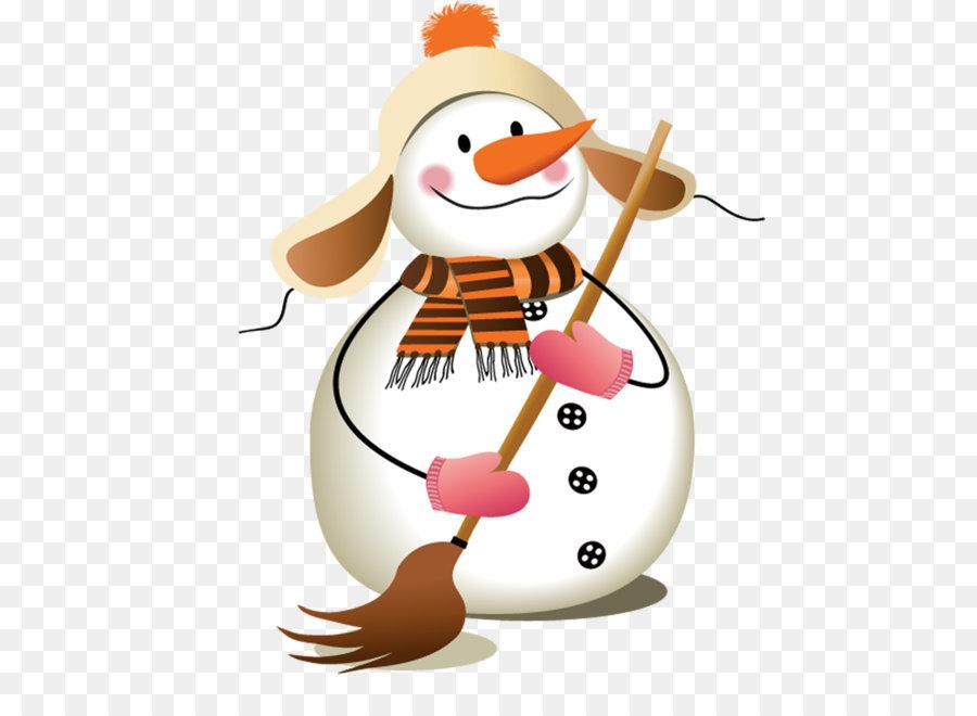 Снеговик на лыжах рисунок