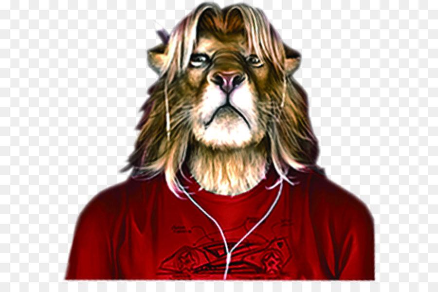 этой картинки человека с головой льва кто