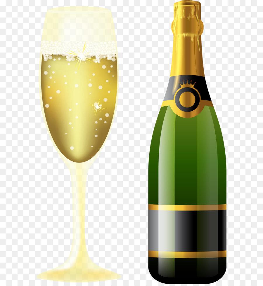 Картинки бутылка шампанского