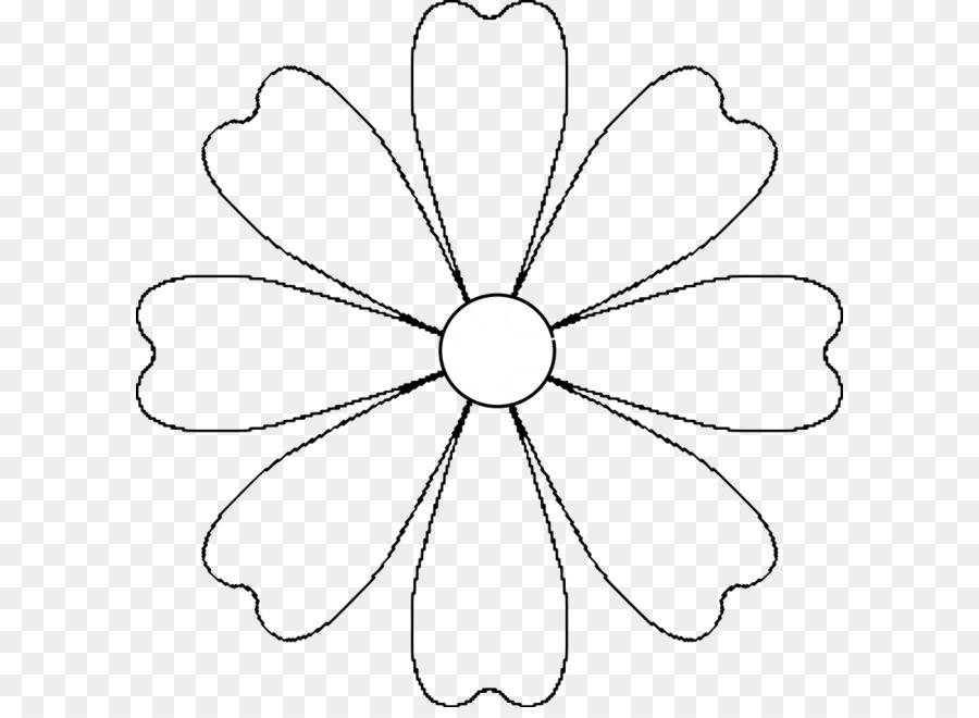 Любимая школа, шаблоны цветочек