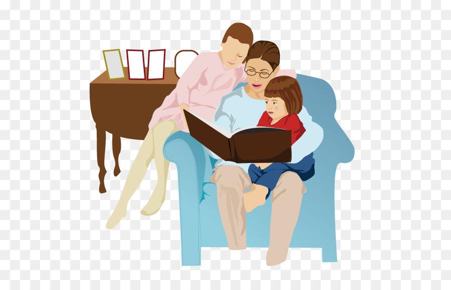 семья читает книги картинки на прозрачном фоне можно выделить