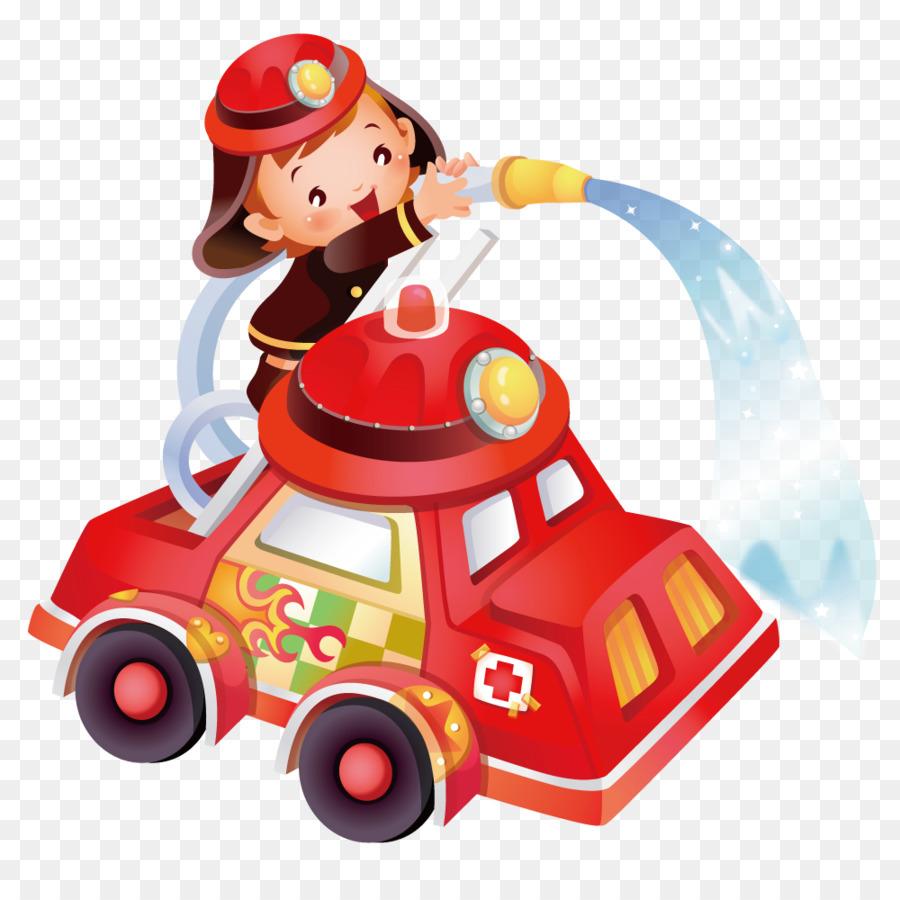 Детская картинка пожарники