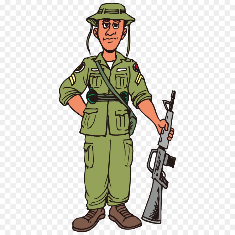 Картинки военных солдат нарисованные