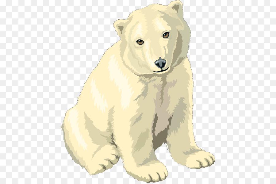 мультяшный белый медвежонок картинки вопросом