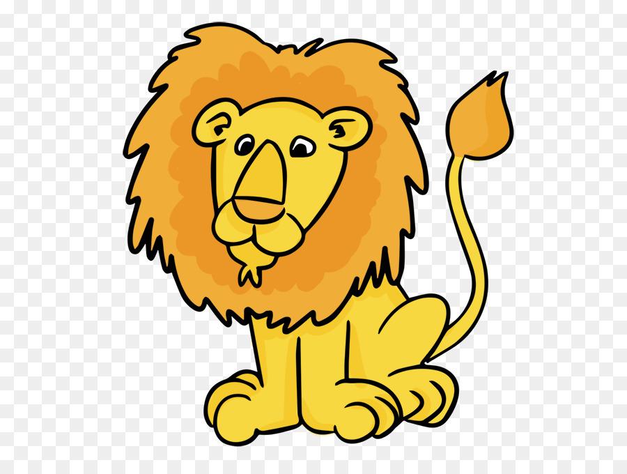 Картинка с изображением льва для детей, самый классный