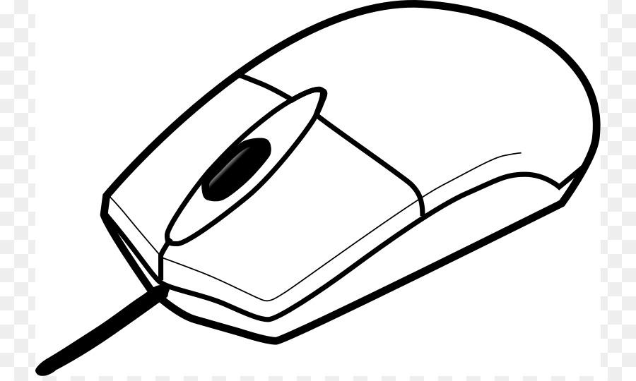 Компьютерная мышь картинка для раскрашивания