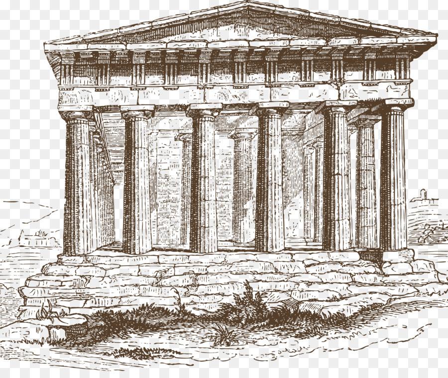 Рисунки построек архитектуры в древнем риме