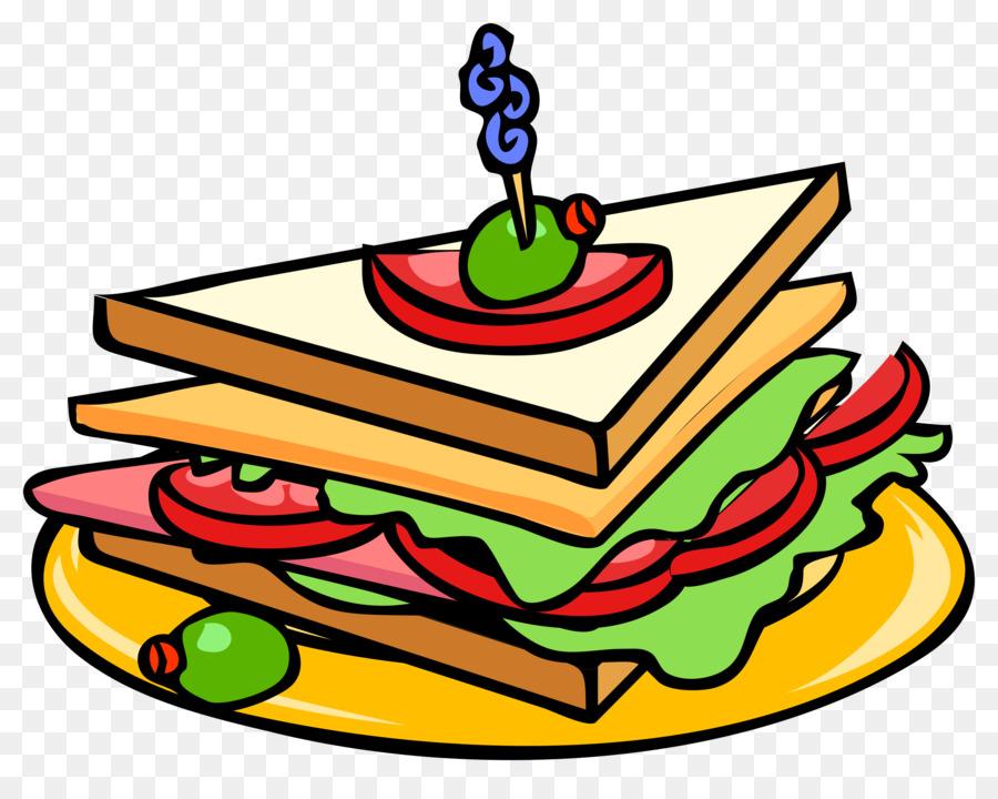 Рисунок картинка сэндвича