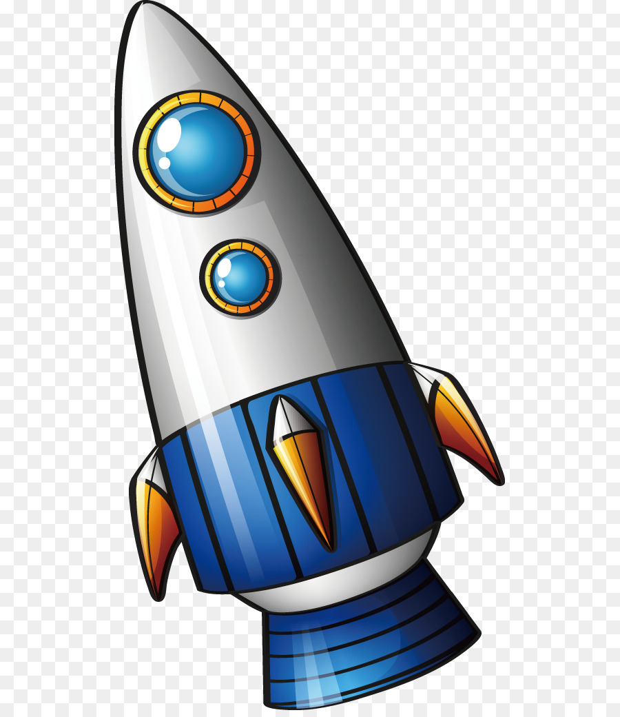 мультяшная ракета картинки вид