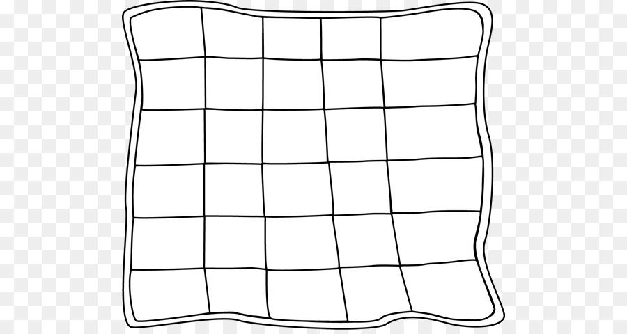 Раскраска одеяло для детей