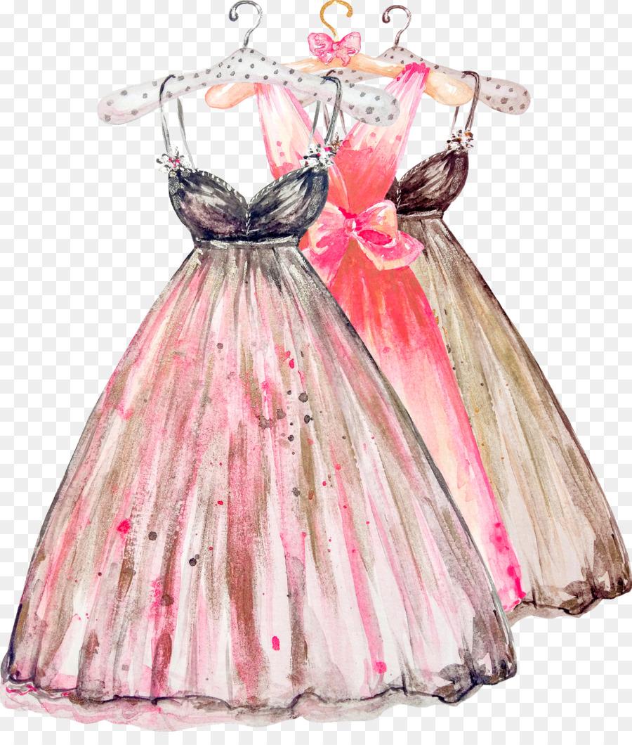 картинка три платья