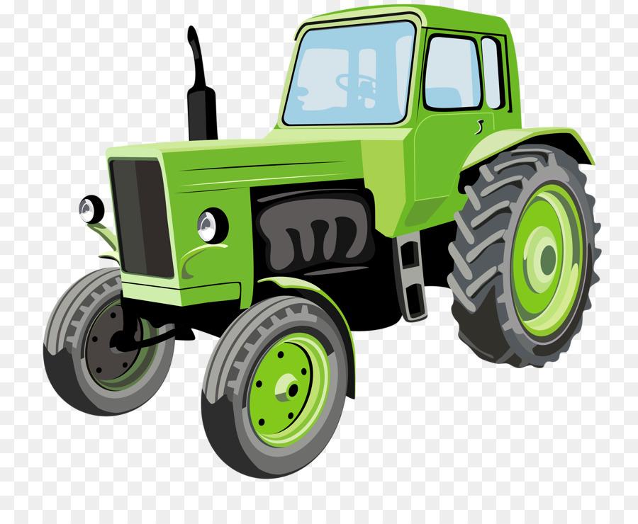 трактор,