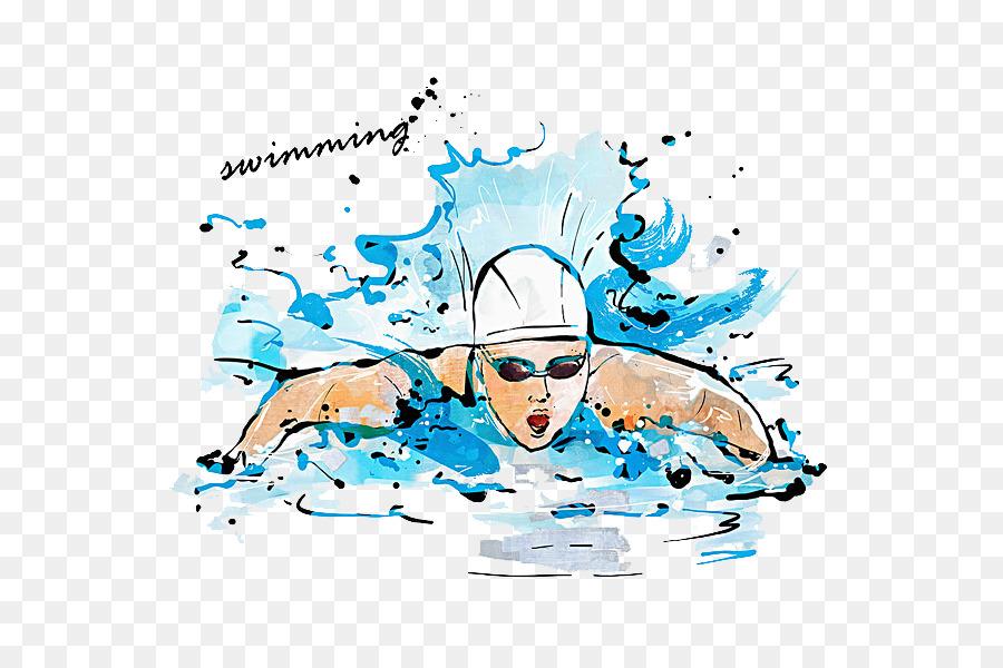практикуем необычное картинки плаванье без фона параллельно