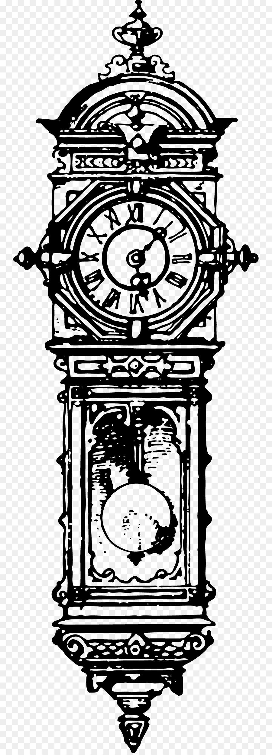 Старинные часы рисунок, маминым днем смешные