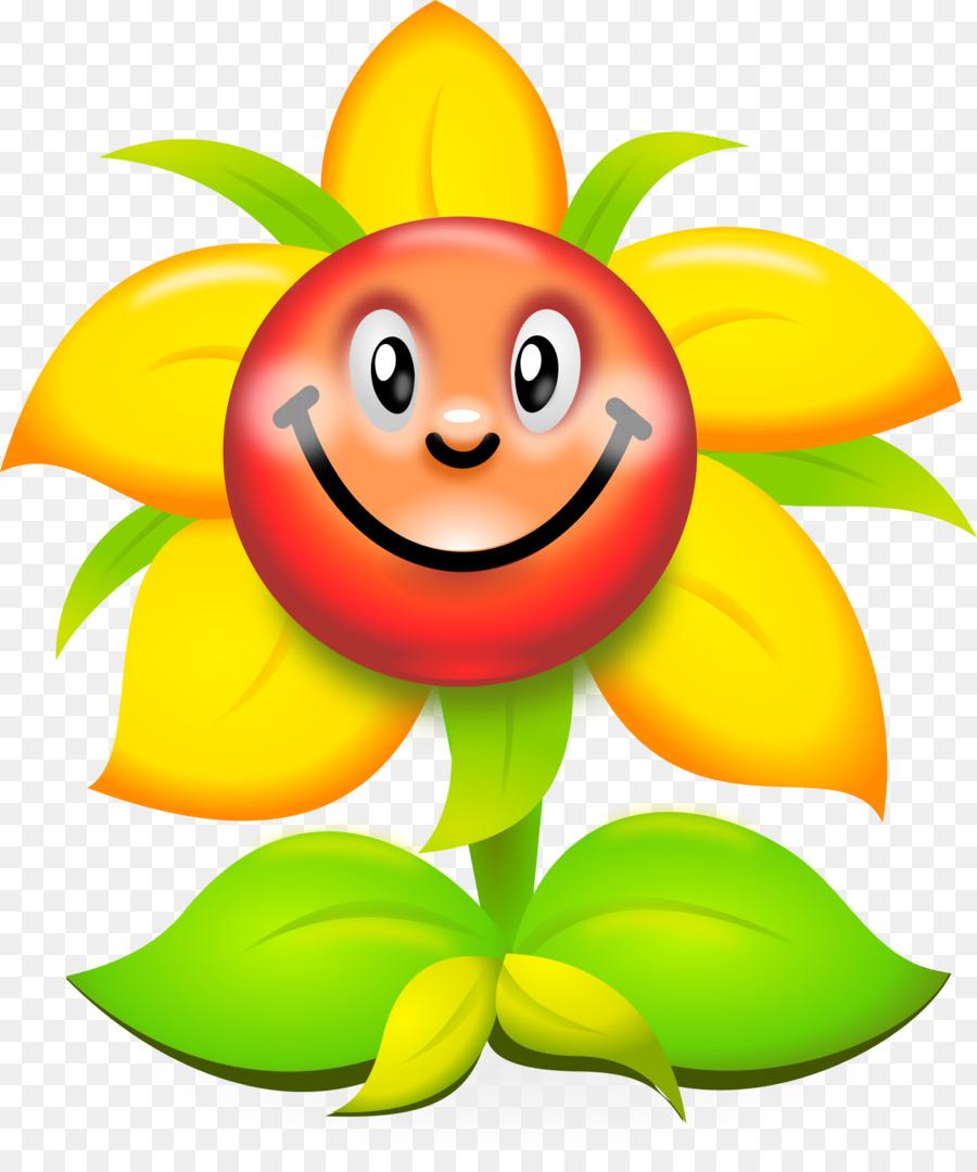 картинка улыбающегося цветка была
