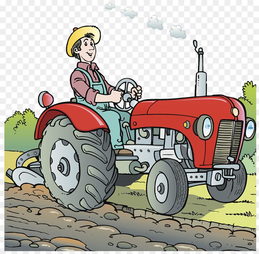 Открытка трактористу
