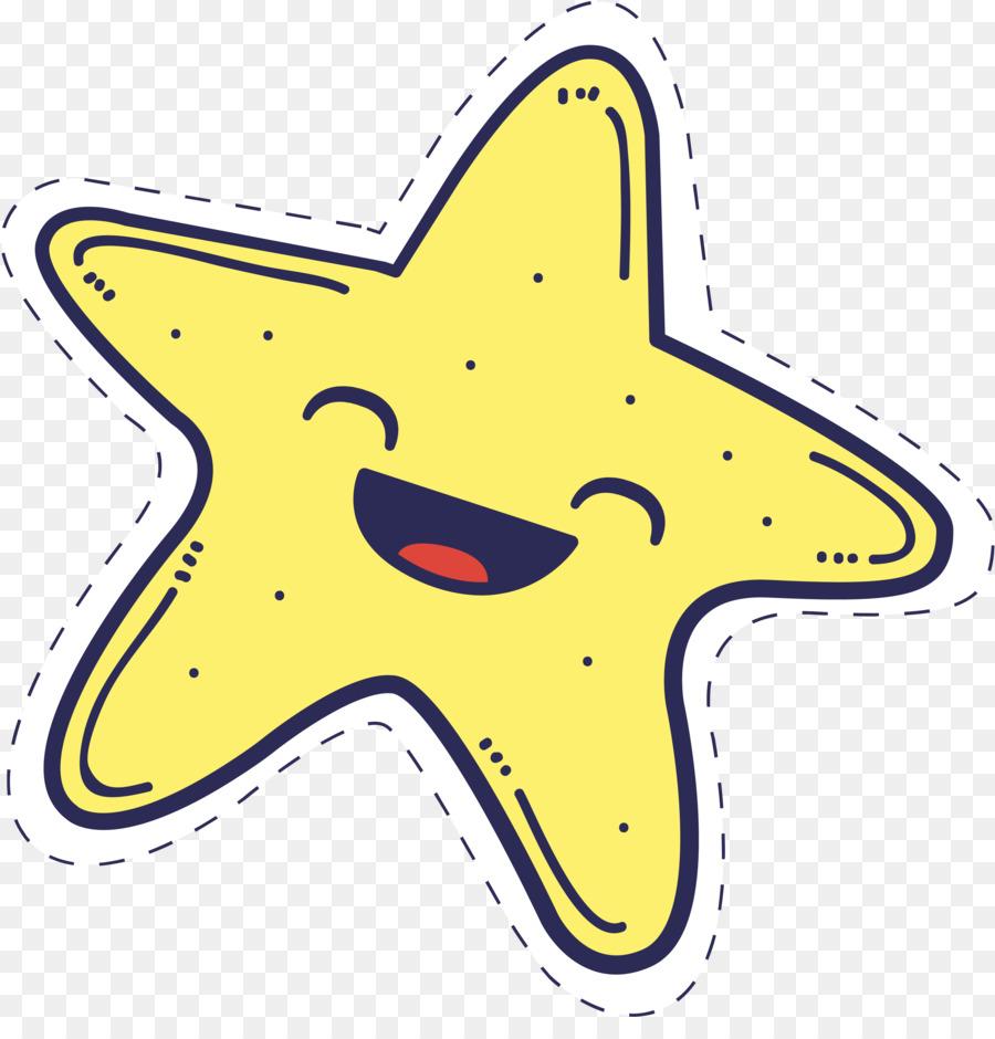 Мультяшная картинка звездочки