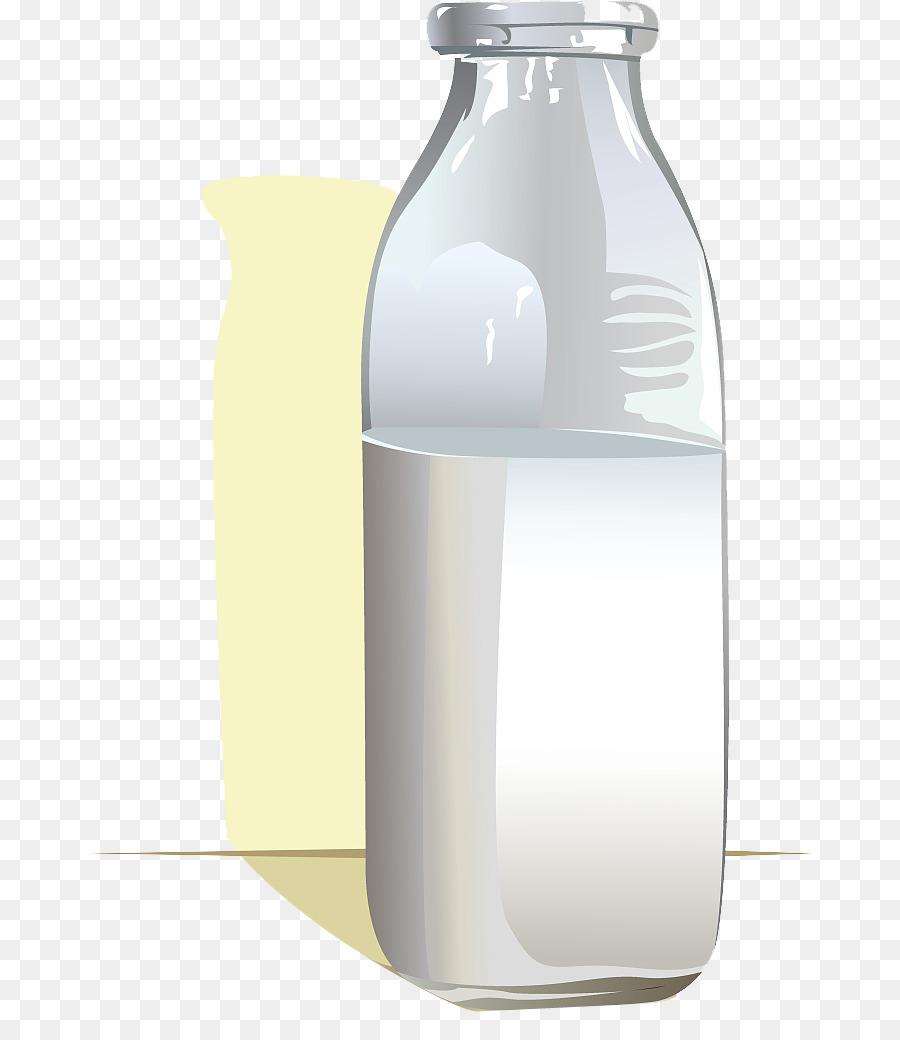 оттенок картинка бутылка молока на прозрачном фоне впереди сзади