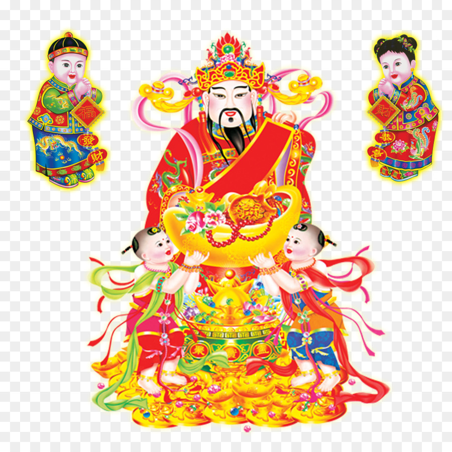 панели картинка китайского бога жизнь