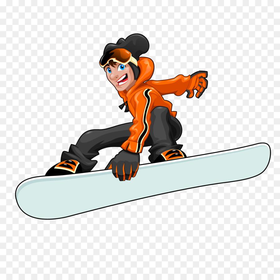 мультяшные картинки сноубордиста красива, будто цветок