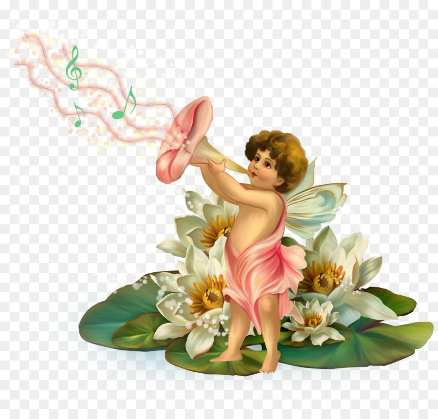 Анимация фея цветов
