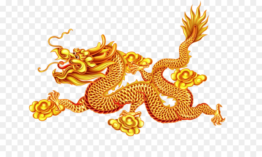 Картинка узор золотом драконе