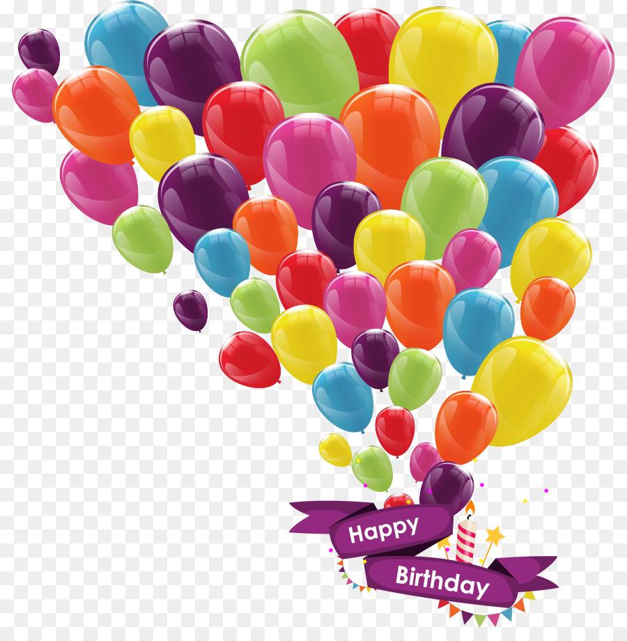Поздравление с днем рождения картинка воздушный шар