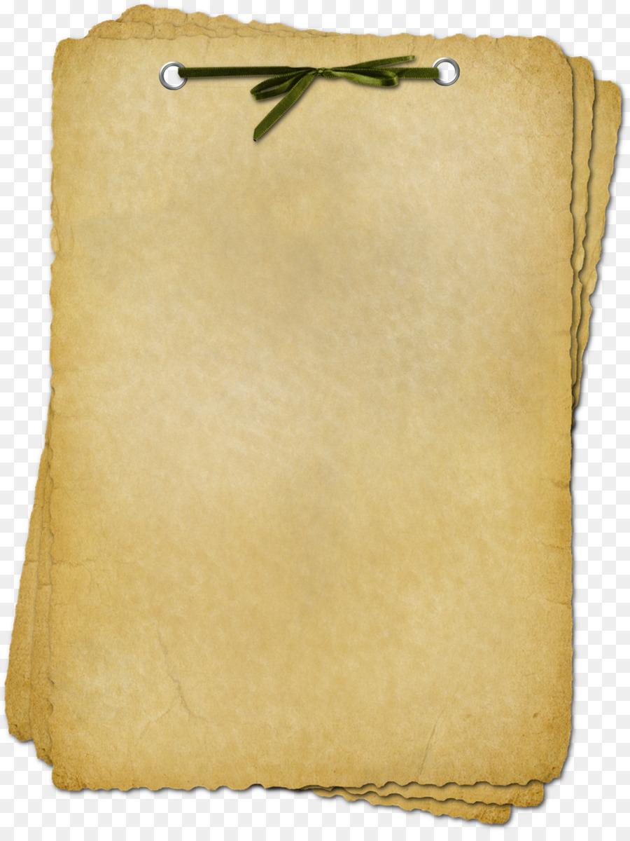 Днем, пергаментная открытка