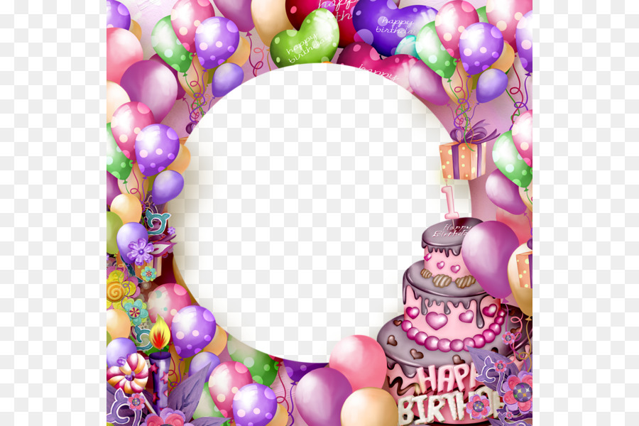 Картинки день рождения рамка