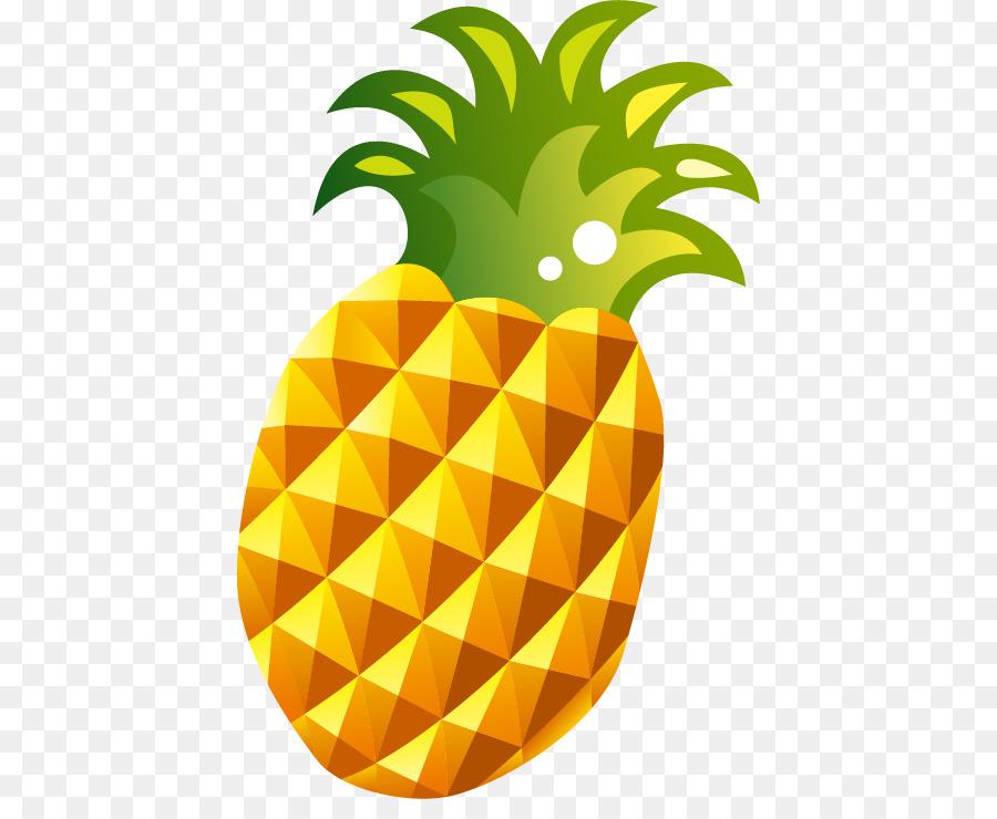 Мультяшная картинка ананас