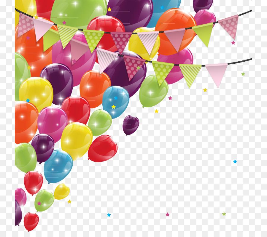 Открытка баннер с днем рождения