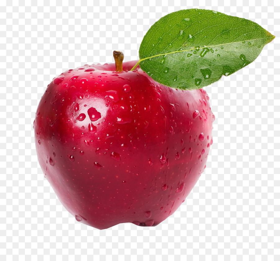 Детские, яблоко с листочком картинка