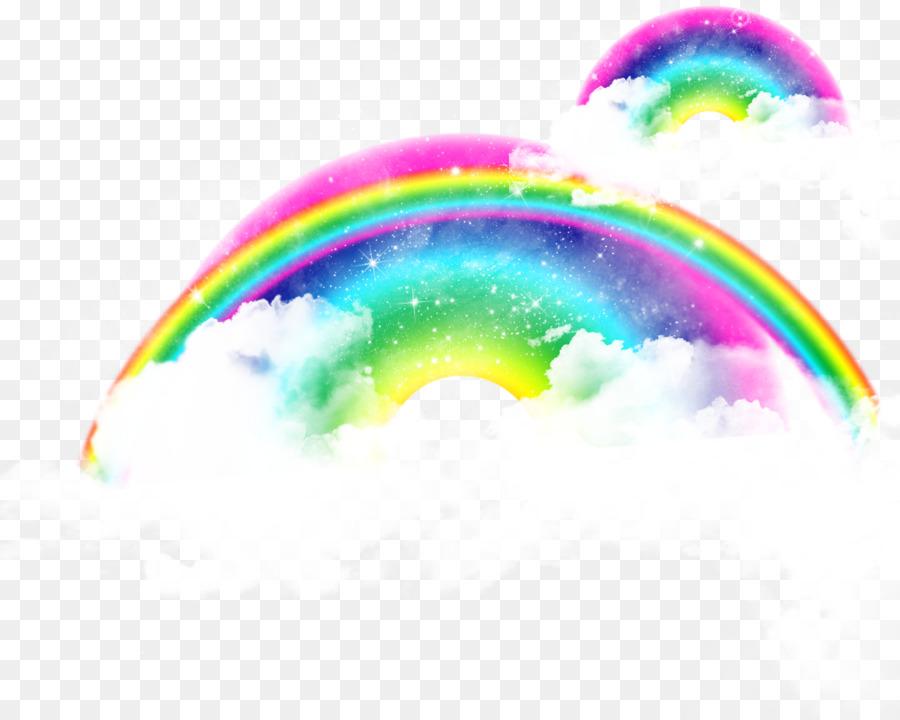 широкие картинка радуги без фона нашей