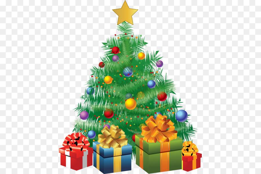 Подарки под елкой картинки нарисованные