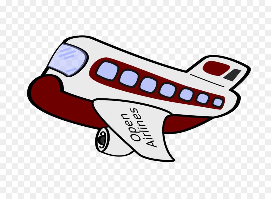 Картинка веселого самолета
