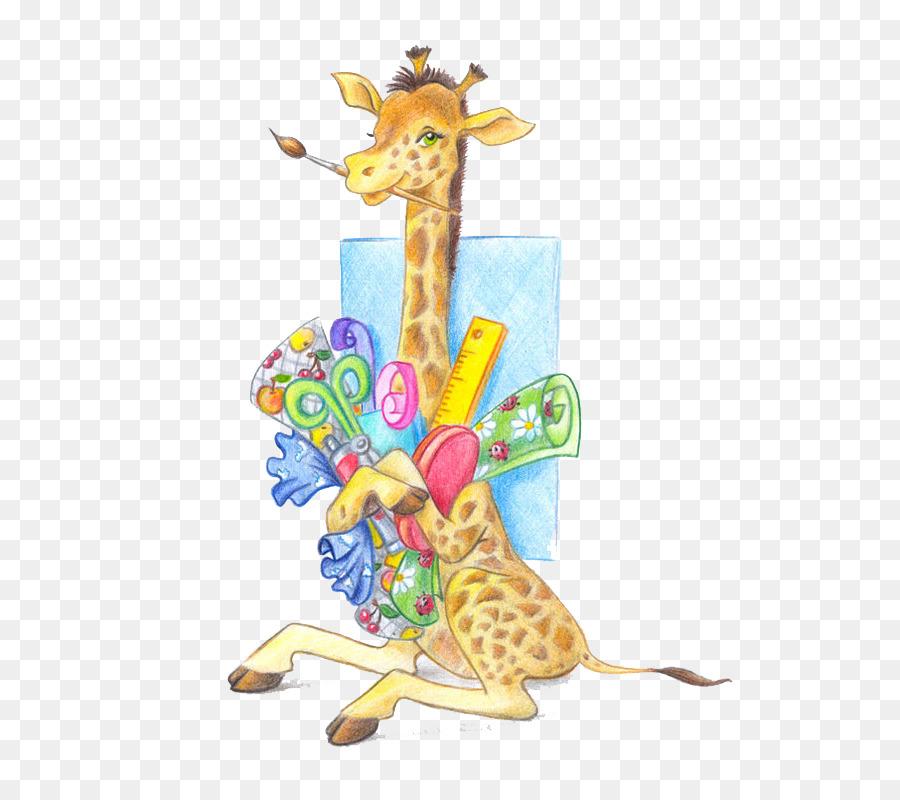 веселый жираф картинки для открыток